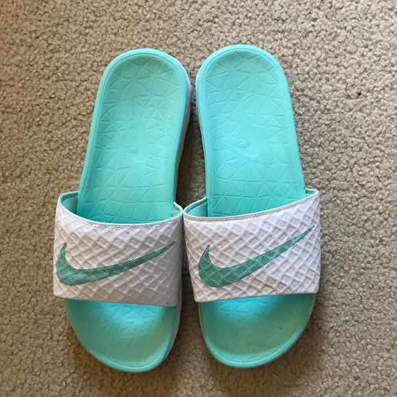 Nike Shoes | Mint Green Nike Sandals